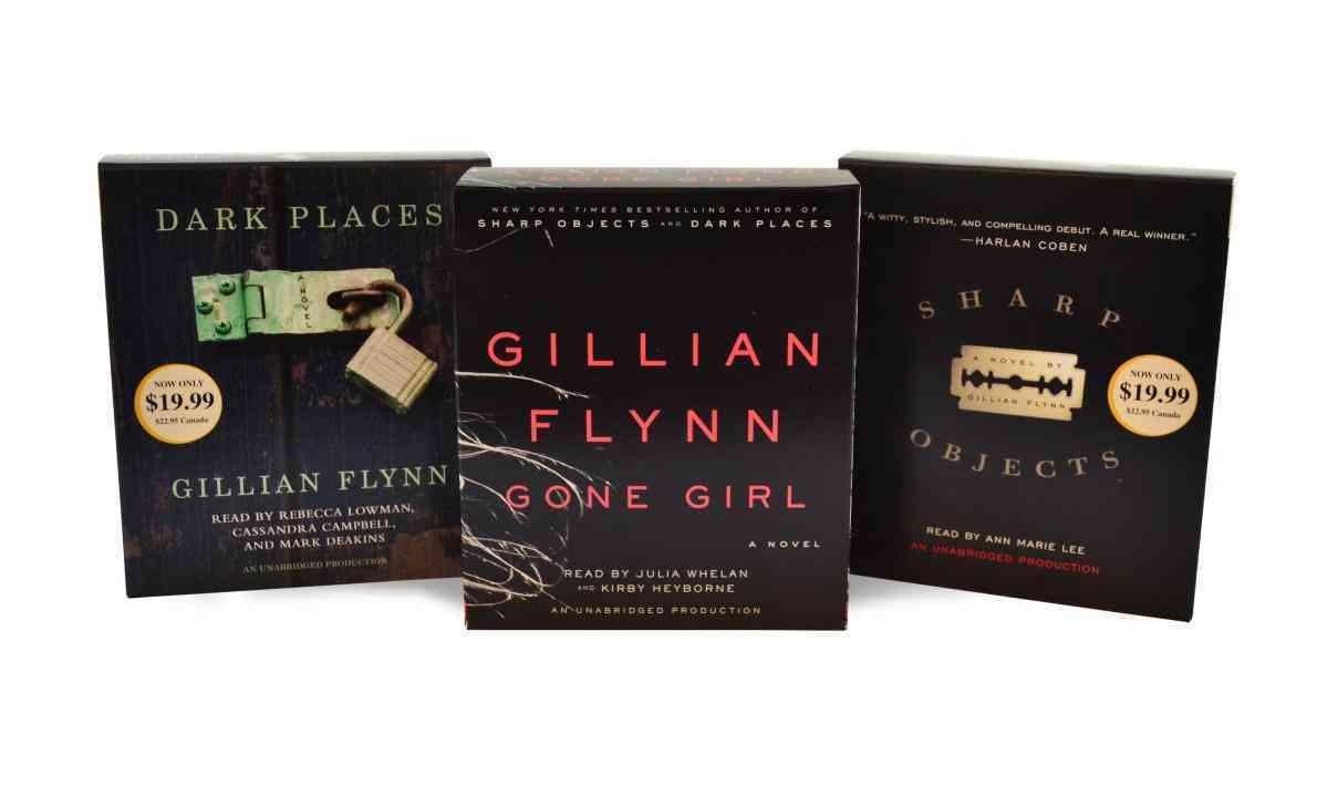 Gillian Flynn Audiobook Bundle: Gone Girl/Dark Places/Sharp Objects (CD-Audio)
