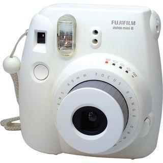 Fujifilm Instax Mini 8 Camera - White