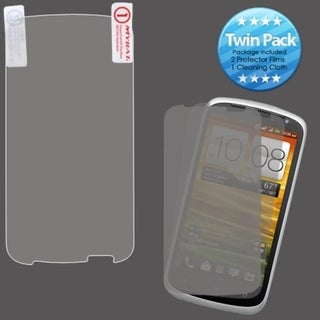 INSTEN Clear Screen Protector Twin Pack for HTC One VX