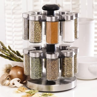 Kamenstein 'Lexington' 16-jar Revolving Spice Rack
