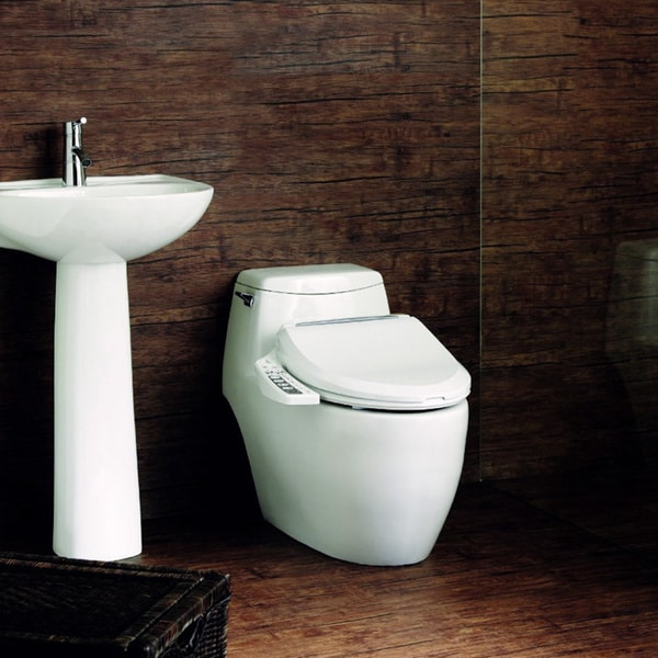 Ultimate BB 600 Bio Bidet Toilet Seat  Free Shipping Today Overstock com 15352492