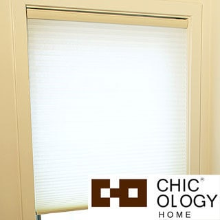 Chicology Cordless Cellular Shade Light Filtering Honeycomb Fabric Whisper Tapioca Beige (23-inch x 72-inch )