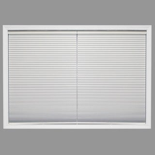 Chicology Cordless Cellular Shade Blackout Honeycomb Fabric Secret Cotton White (23-inch x 72-inch )