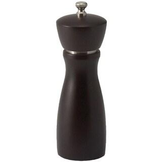 Winco 6-inch Maestro Modern Dark Espresso Peppermill