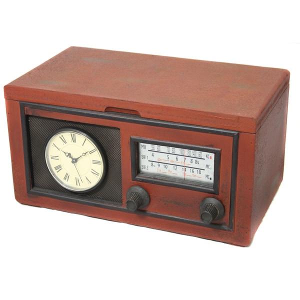 Vintage Radio Replica Decorative Clock