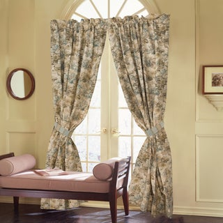 Curtains Ideas 86 inch curtain panels : Rose Tree Madeline 86-inch Curtain Panel Pair - Free Shipping ...