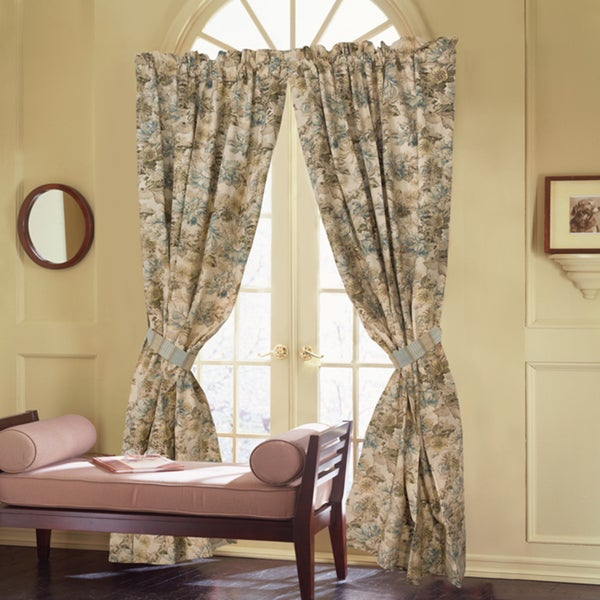 Rose Tree Madeline 86-inch Curtain Panel Pair