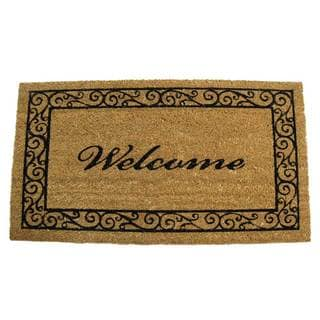 Rubber-Cal Estate Welcome Mat (18 x 30)