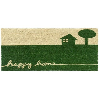 Rubber-Cal Happy Home Country Doormat (18 x 30)