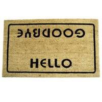 Rubber-Cal Hello Goodbye Doormat (18 x 30)