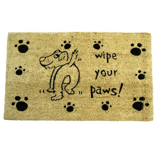 Rubber cal wipe your paws doormat 18 x 30 c41febe1 3baf 4803 ac72 a8cfb25664e9 600