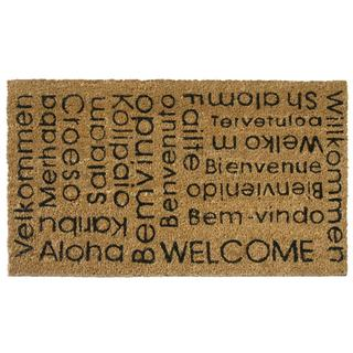Rubber-Cal 'In Any Language It Is Still a Welcome' Welcome Mat