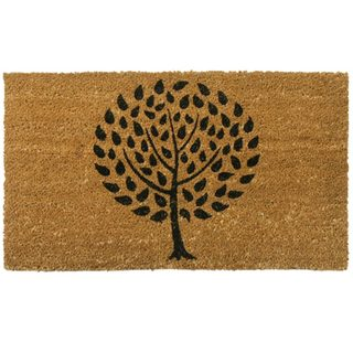 Rubber-Cal Modern Landscape Contemporary Door Mat (18 x 30)