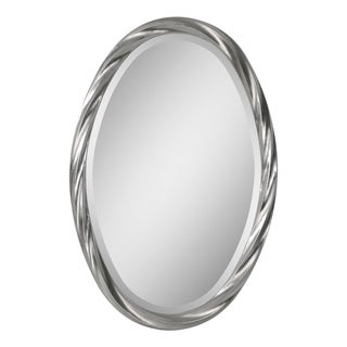 Ren Wil 'Wiltshire' Oval Twisted Frame Mirror