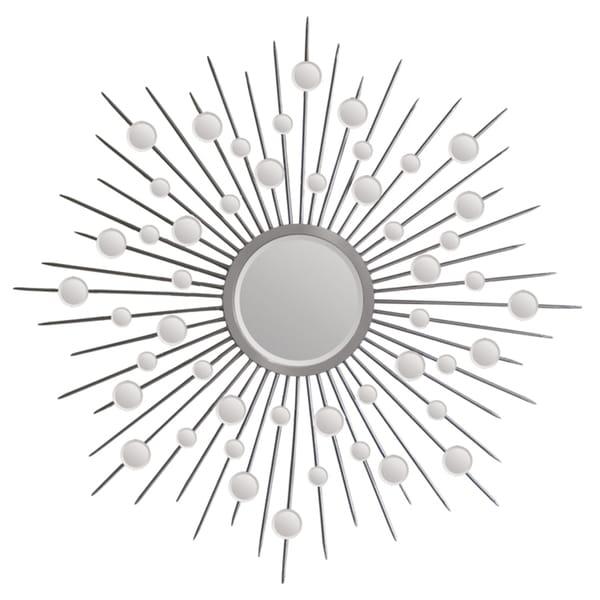 Shop Ren Wil Silver Starburst Mirror