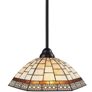 Riviera Bronze One-Light Indoor Mini Pendant
