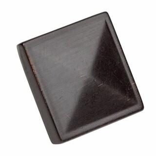 GlideRite 1.25-inch Square Pyramid Cabinet Knobs (Case of 100)
