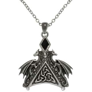 Pewter Enamel and Crystal Dragon Necklace https://ak1.ostkcdn.com/images/products/7984534/7984534/CGC-Pewter-Enamel-and-Crystal-Dragon-Necklace-P15352893.jpg?impolicy=medium