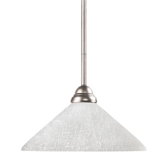 Riviera Brushed Nickel Mini Pendant