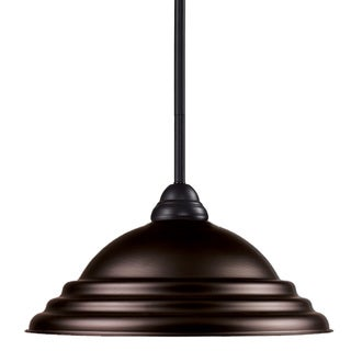 Riviera Bronze 1-light Mini Pendant