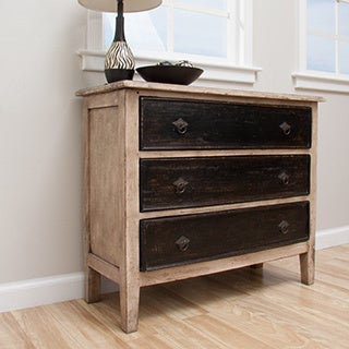 Handcrafted Nakati Rustic Dresser (Indonesia)