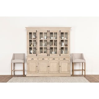 Wilson Reclaimed Wood 82-inch China Cabinet by Kosas Home