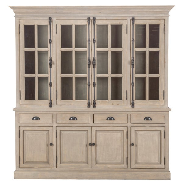 Wilson Reclaimed Wood 82 Inch China Cabinet By Kosas Home