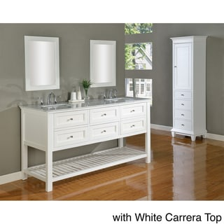 vanity sink 70 inch pearl white mission spa double vanity sink cabinet