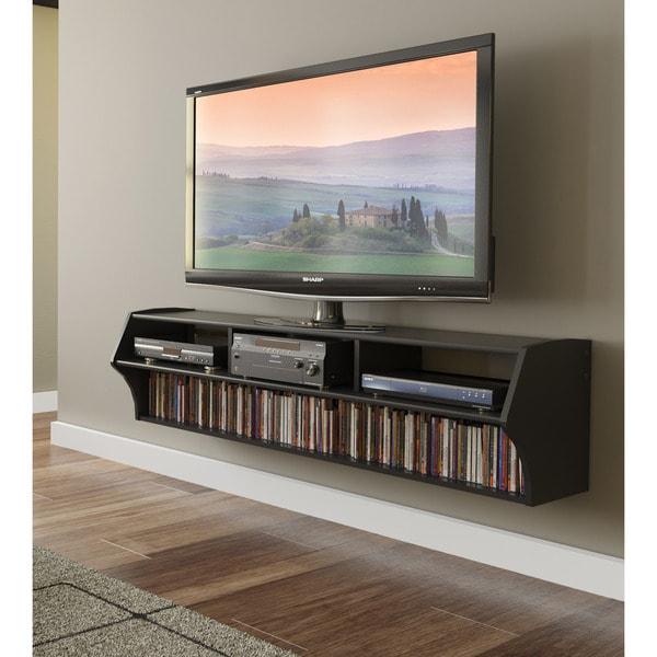 Broadway Altus Plus Black 58-inch Floating TV Stand