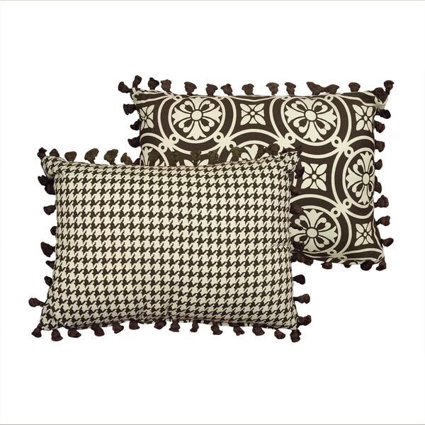 Rose Tree 'Dylan' 14x20 Reversible Medallion Decorative Pillow