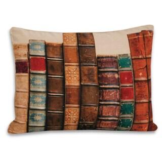 14 x 18-inch Decorative Vintage Books Digital Throw Pillow