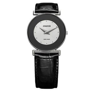 Jowissa Women's Swiss Elegance Patent Leather Strap Watch
