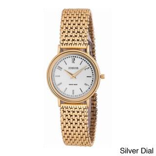 Jowissa Swiss Men's Nuoro Gold PVD Stainless Steel Sunray Watch