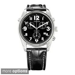 Jowissa Swiss Men's Ginebra Quartz Chronograph Date Leather Watch