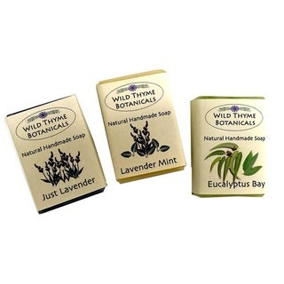 Link to Lavender Blends Natural Handmade 3-bar Soap Trio Similar Items in Bath & Body