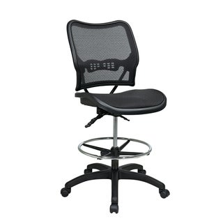 Deluxe Ergonomic MeshSeat and Back Drafting Chair
