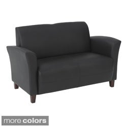 Office Star Products Breeze Eco Leather Loveseat