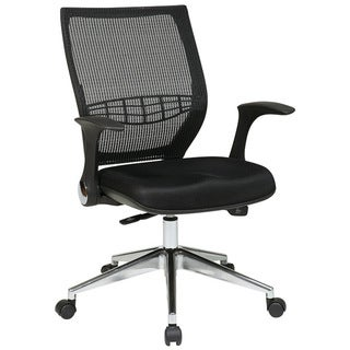 Pro-Line II ProGrid Padded Black Mesh Executive Chair
