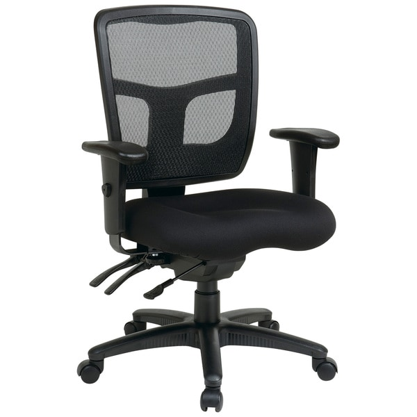 Office Star Pro Line Ii Breathable Progrid Ratchet Back Chair