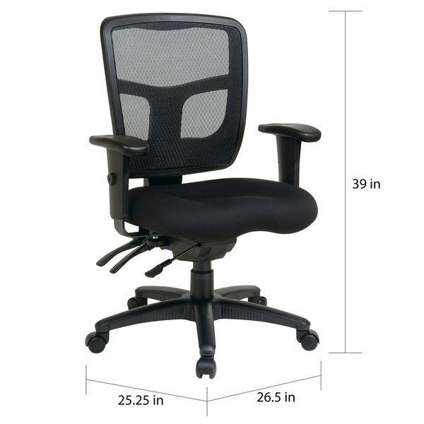 Office Star Pro Line II Breathable ProGrid Ratchet Back Office Chair   Free  Shipping Today   Overstock com   15354508Office Star Pro Line II Breathable ProGrid Ratchet Back Office  . Office Star Ergonomic Chair. Home Design Ideas