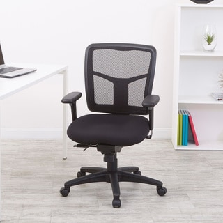 Astonishing Pro Line Ii Progrid Black Padded Mesh Office Chair Overstock Com Shopping The Best Deals On Office Chairs Pdpeps Interior Chair Design Pdpepsorg