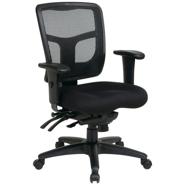 Pro-Line II ProGrid Black Padded Mesh Office Chair