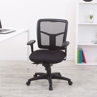 Pro-Line II ProGrid Black Padded Mesh Office Chair