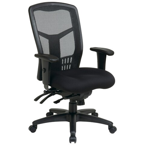 Pro-Line II ProGrid Black Breathable Fixed Back Office Chair
