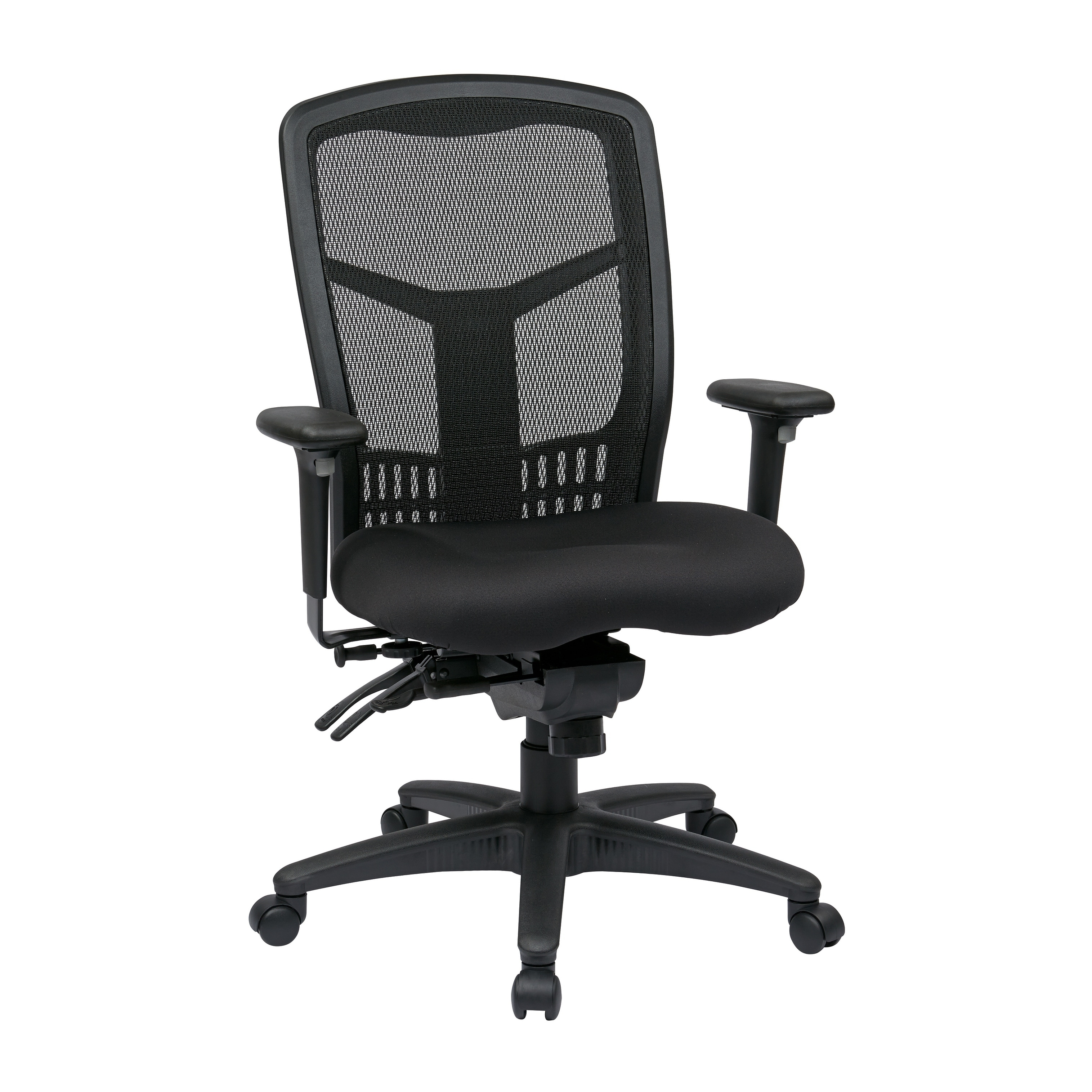 Pleasant Pro Line Ii Progrid Black Breathable Fixed Back Office Chair Ocoug Best Dining Table And Chair Ideas Images Ocougorg
