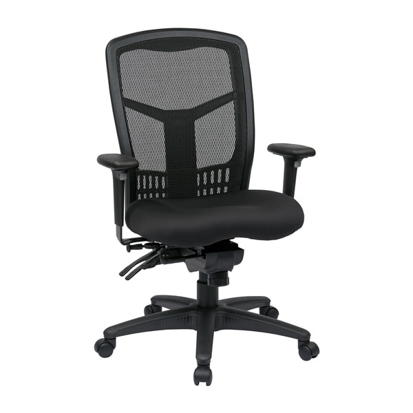 Pro-Line II ProGrid Black Breathable Fixed Back Office Chair. Opens flyout.
