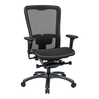 Pro-Line II Breathable ProGrid Fixed High-back Ergonomic Office Chair