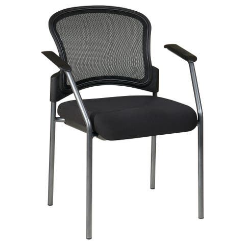 Breathable Stackable Visitor's Chair