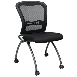 Pro-Line II Breathable Armless Padded Folding Chair (Pack of 2)