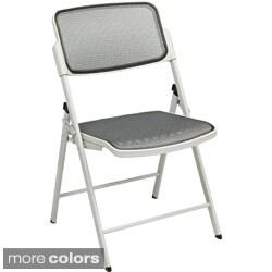 Pro-Line II Big & Tall Armless Padded Folding Chair